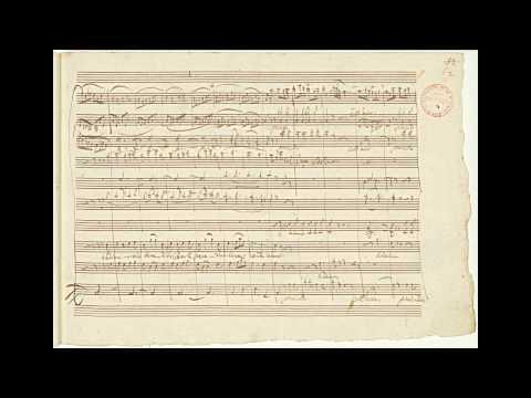 "Mozart: ""Don Giovanni"" - 'Là Ci Darem La Mano' - 'Ah, Fuggi Il Traditor' (autograph Manuscript)"