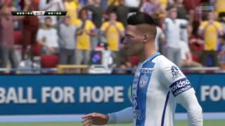 Penales Tigres vs Pachuca fifa 17