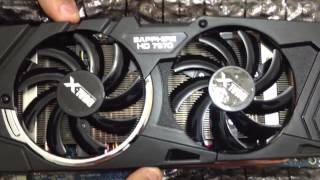 sapphire hd 7970 unboxing e review