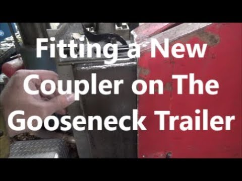 Installing a New Neck on A Gooseneck Trailer