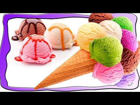 Мультик про мороженое. Как приготовить мороженное дома. Игра для детей.