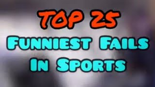 funny fails in sports, bloopers