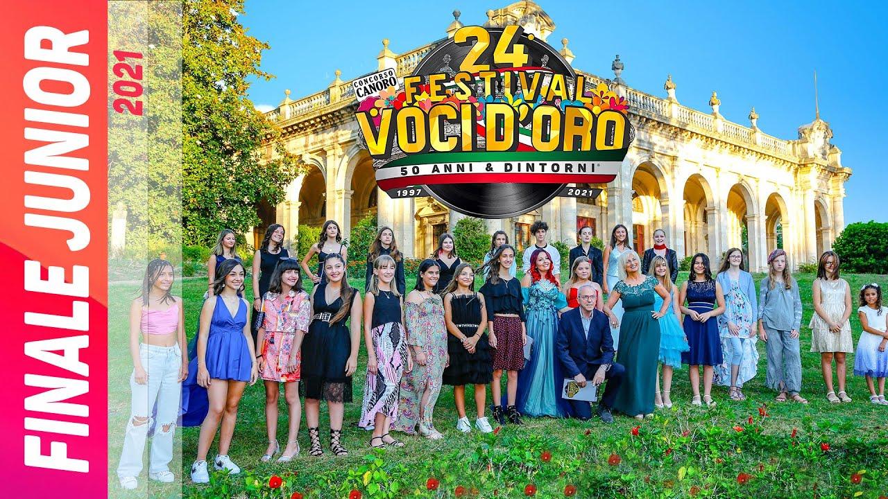 In uscita Video TV  finale Junior del 24° Festival Voci d'Oro 2021