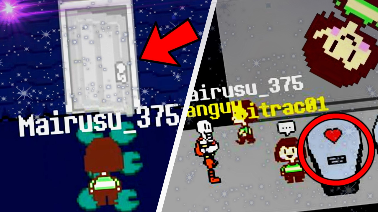 new locations and secrets undertale online multiplayer mmorpg