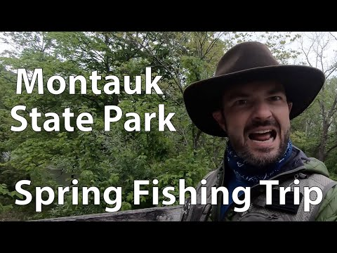 Montauk State Park Fishing Trip - Spring 2019