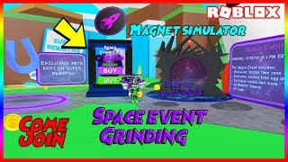 🧲🚀 Roblox Magnet Simulator Space Event Day 2! Come Join! 🚀🧲