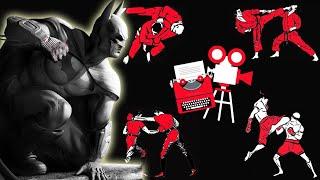 Batman Fight Scene Breakdown -  Batman Arkham City Hugo Strange Cinematic Trailer