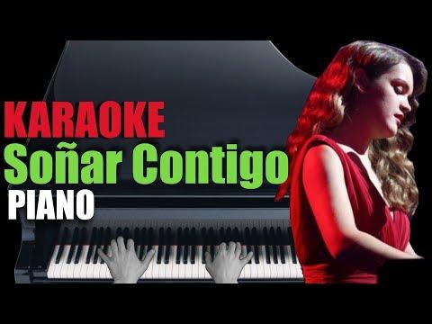 SOÑAR CONTIGO - Amaia 🎹 Piano Karaoke + Partitura 💃🏻