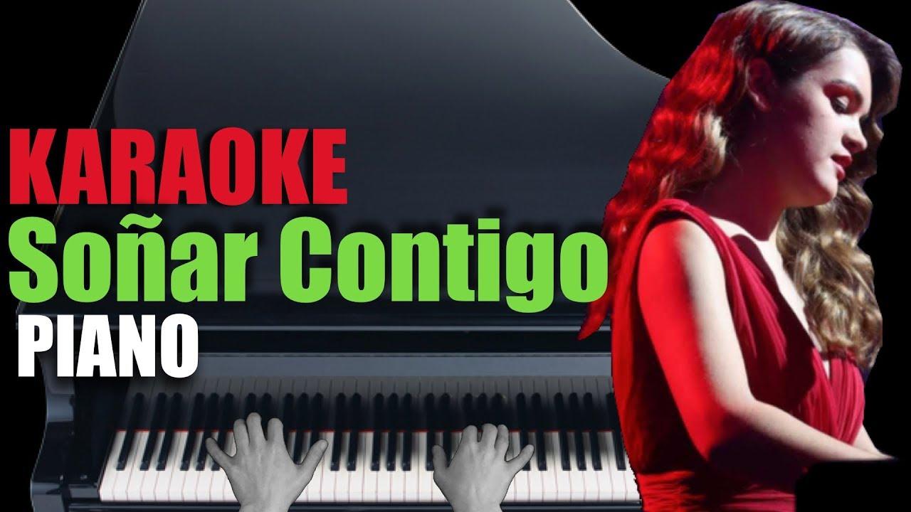 Soñar Contigo Amaia Piano Karaoke Partitura Youtube