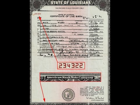 Birth Certificates Bond of Corporate Slavery and Debt Documentary You Decide