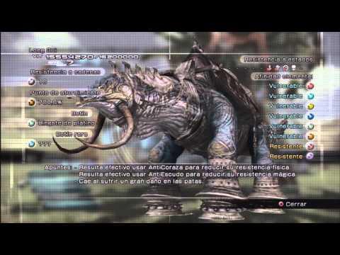Guía Comentada Final Fantasy XIII HD - Parte 74 - Long Gui fácil y rápido