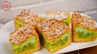 МЫ в ВОСТОРГЕ от ЭТОГО ПИРОГА Как ТОРТ Самый вкусный и Не обычный пирог с ревенем