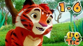Leo and Tig - Full episodes collection (1-6) - Good Animated Movies for kids   Moolt Kids Toons