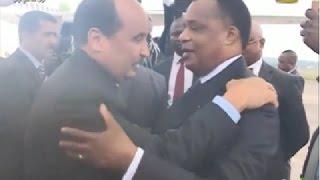 ولد عبد العزيز في الكونغو للمشاركة في اجتماع لجنة الإتحاد الإفريقي العليا حول ليبيا
