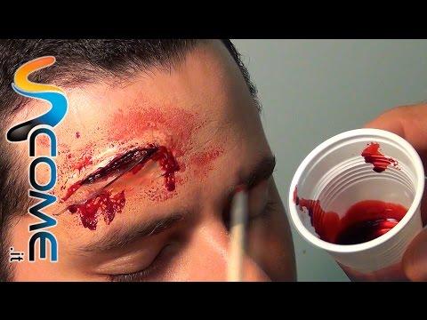 Come fare il sangue finto fatto in casa