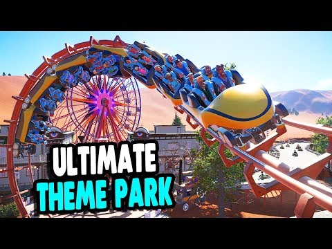 BEST BUILDING GAME, EVER | Roller Coaster & Theme Park Build | Planet Coaster Gameplay