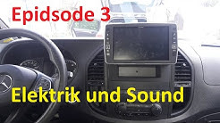 Camper Ausbau Episode 3 Elektrik | Vito W447  | Zweitbatterie  | Ladebooster  | Alpine X903D-V447