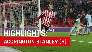 Highlights: Sunderland v Accrington Stanley