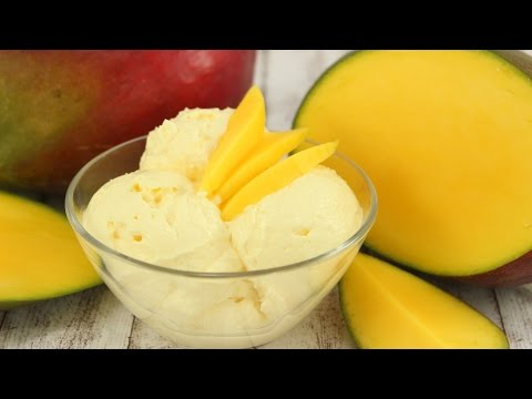 Mango-Eis OHNE Eismaschine- super cremig & lecker :)