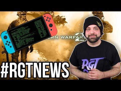 Modern Warfare 2 Remaster Leak + MORE POWERFUL NINTENDO SWITCH?  | #RGTNEWS