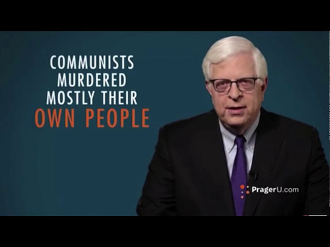 Reacting to Prager's Why Don't You Hate Commies as Much as I Do