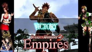 Dynasty Warriors 4: Empires - Gan Ning Gameplay