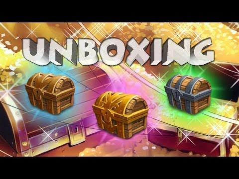 Castle Clash: Unboxing 100+ Mesa Chest IV's