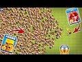 Gambar cover 1 Max Valkyrie vs 5000 Max Barbarian Clash of Clans | 1 Valk vs Barbarian