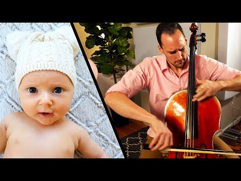 PERFECT - Ed Sheeran + NEW BABY [Cello & Piano Cover] - Brooklyn Duo