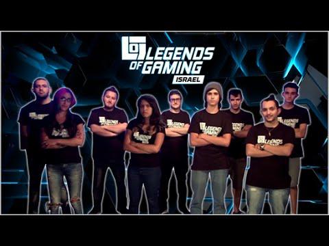 Legends of Gaming Israel - הטריילר