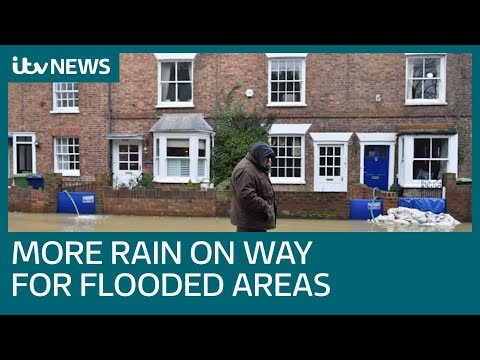 More Than 100 Flood Warnings As Rain Continues Across Britain | ITV News
