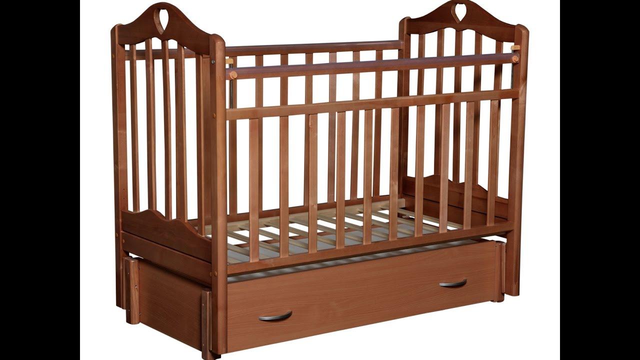 Кровать СКВ Компани Березка опускающаяся стенка колесо качалка .