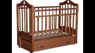 видео Кровать Каролина 5 продольный маятник (Антел) на «Мебель онлайн» покупайте в Барнауле недорого