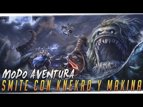 SMITE MODO AVENTURA con KNekro y Makina | Nuevo modo difícil y divertido!