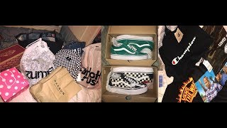 BACK TO SCHOOL CLOTHING HAUL 2017| ZUMIEZ, VANS, PACSUN, & MORE