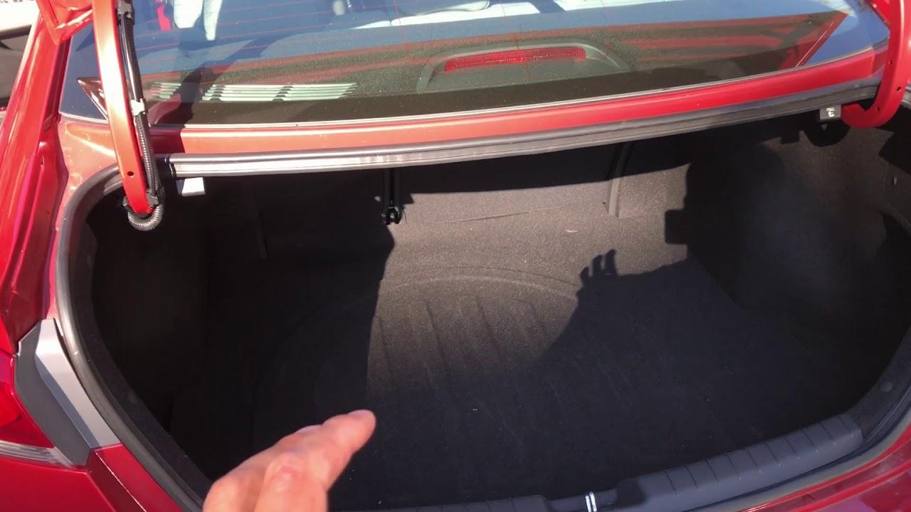 Spare Tire Location Hyundai Elantra Youtube