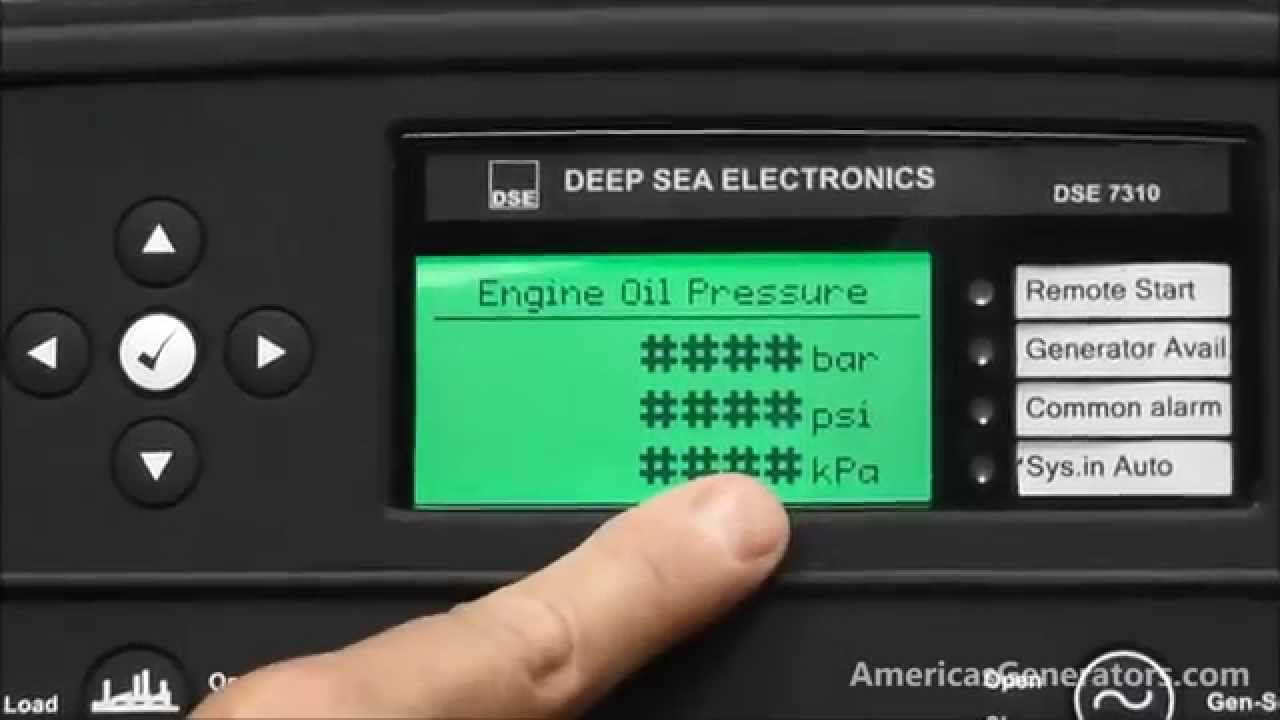 Americas Generators How To Install And Maintain A Deep Sea Control Generator Wiring Diagram Panel Part 3 Youtube