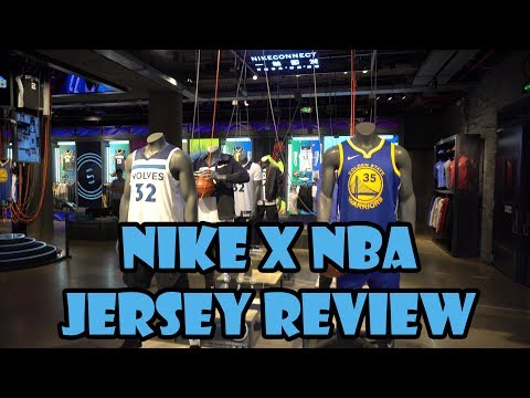 Time Out: Nike x NBA Jersey Review!