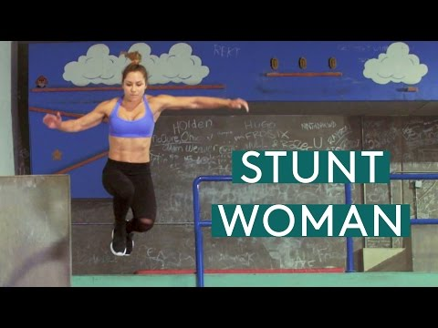 The Mental & Physical Challenges Of Being A Stunt Woman | Be A Badass | Brawlers