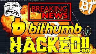 BREAKING NEWS: Bithumb cryptocurrency exchange hacked more than 30 million$ stolen|#Marketreview