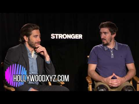 Stronger Jake Gyllenhaal & Jeff Bauman full interview