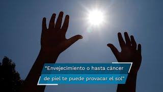 Los periodos prolongados al sol pueden derivar en lesiones en la piel que van desde quemaduras de primer grado hasta cáncer.  www.eluniversalpuebla.com.mx