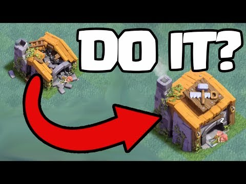 Thumbnail: Should You RUSH? Clash of Clans Builder Hall 5 Beating BH6