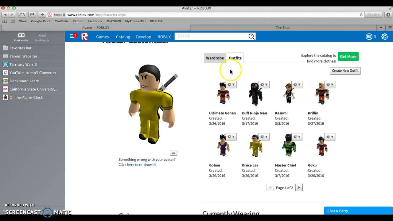 How To Customize Your Roblox Character Ii Youtube