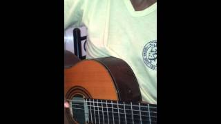 hallelujah - played on guitar classic by Ayoub El Fachtali