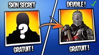 [EXCLUDEd] THE SKIN -GRAND FROID- REVEALED ON FORTNITE! SKIN SECRET SEASON 7