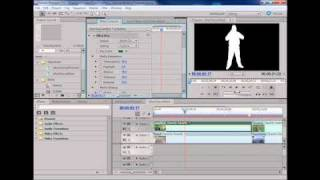 Adobe Premiere Pro CS5 Tutorial - Creating a green screen key using Ultra Key[TheFrontLinex (#15)]
