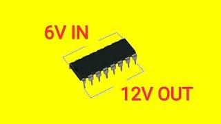 Diy Voltage Booster Circuit..Simple Voltage Booster..Boost Converter..