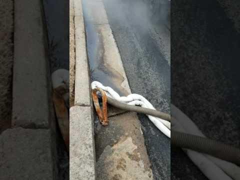 Atlanta Gas Spill Clean Up