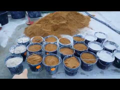 Enduit chaux sable la machine sable roux de lexos for Enduit a la chaux